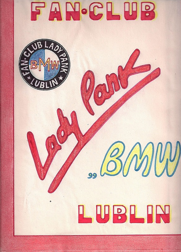 "FAN-CLUB LADY PANK ""BMW"""