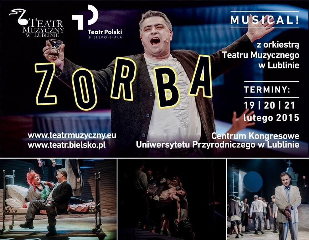 ZORBA - TEATR POLSKI BIELSKO-BIAŁA & TEATR MUZYCZNY W LUBLINIE RAZEM - STARZAŁ W 10!