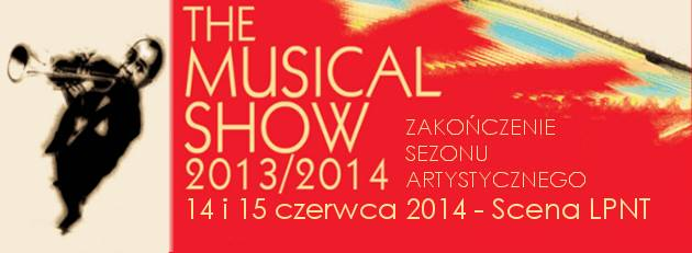 """""""THE MUSICAL SHOW"""" NA ZAKOŃCZENIE SEZONU ARTYSTYCZNEGO"""