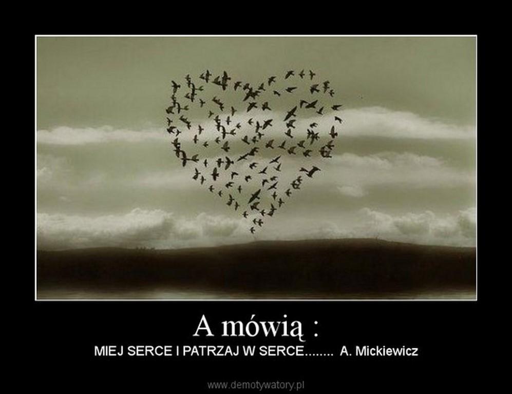 """""""MIEJ SERCE I PATRZAJ W SERCE"""""""