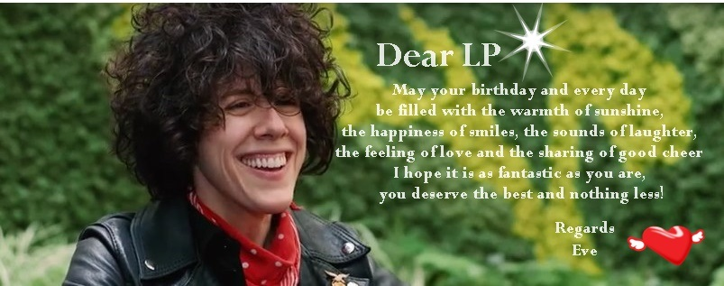 HAPPY BIRTHDAY LP!