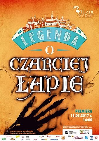"""""""LEGENDA O CZARCIEJ ŁAPIE"""" NA 700-LECIE LUBLINA"""
