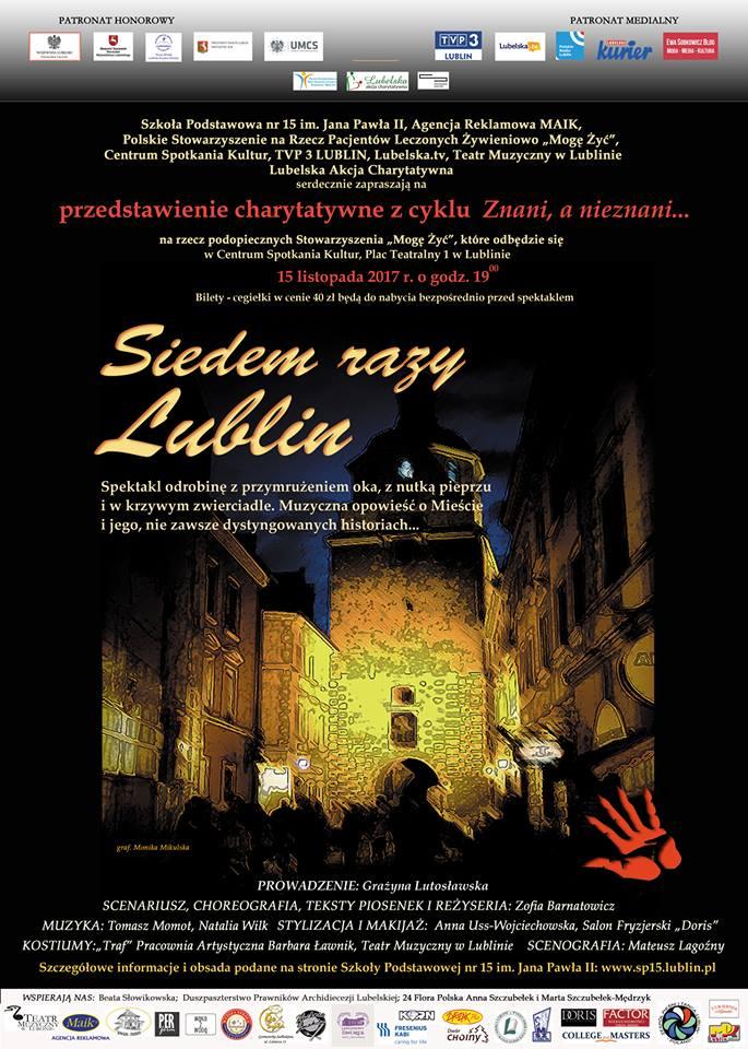Siedem Razy Lublin Spektakl Muzyczny Lubelskiej Akcji